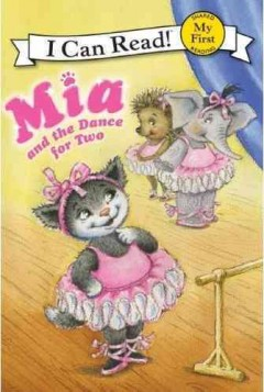 Bookjacket for  Mia and the dance for two