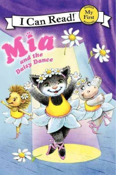 Bookjacket for  Mia and the daisy dance