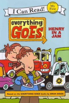 Bookjacket for  Henry in a jam