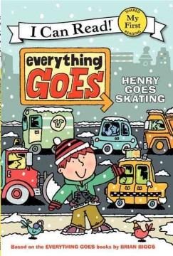 Bookjacket for  Henry goes skating
