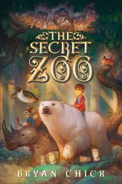 Bookjacket for The Secret Zoo