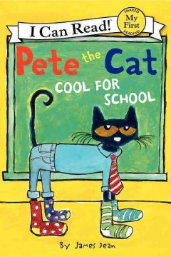 Bookjacket for  Too cool for school