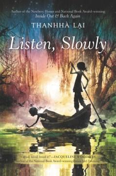 Bookjacket for  Listen, Slowly