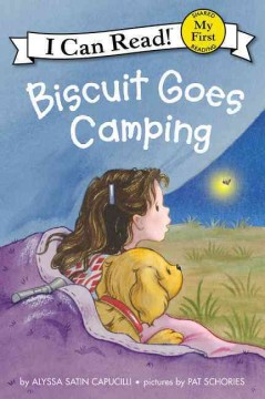 Bookjacket for  Biscuit goes camping