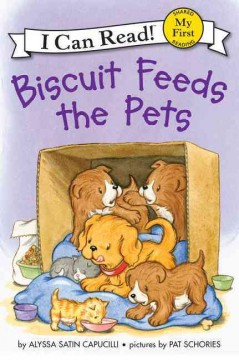 Bookjacket for  Biscuit feeds the pets