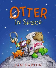Bookjacket for  Otter in Space