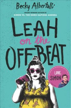 Bookjacket for  Leah on the Offbeat