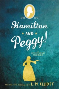 Bookjacket for  Hamilton and Peggy!
