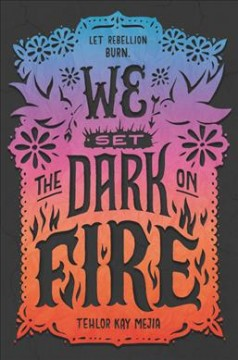 Bookjacket for  We Set the Dark on Fire