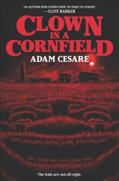 Bookjacket for  Clown In A Cornfield