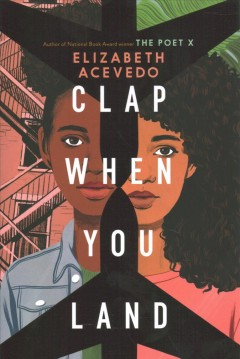 Bookjacket for  Clap When You Land