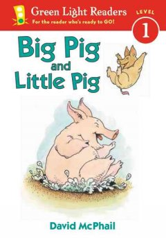 Bookjacket for  Big Pig and Little Pig