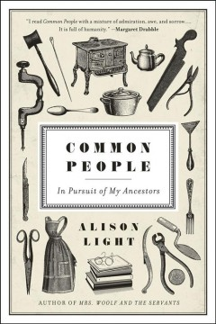 Bookjacket for  Common people : in pursuit of my ancestors
