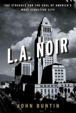 bookjacket for L. A. noir