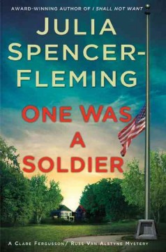 Bookjacket for  One was a soldier