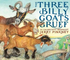 Bookjacket for The three billy goats gruff