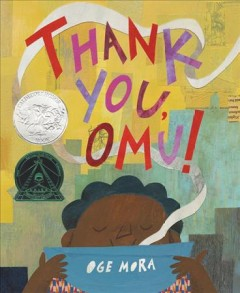 Bookjacket for  Thank you, Omu!