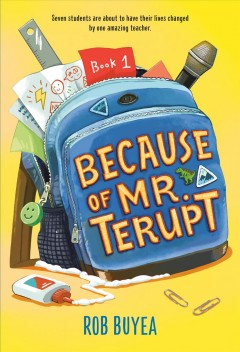 Bookjacket for  Because of Mr. Terupt