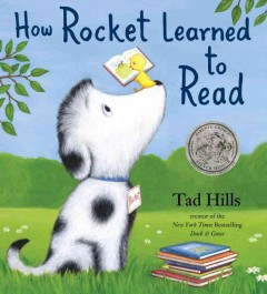 Bookjacket for  How Rocket Learned to Read
