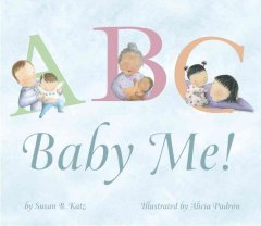 Bookjacket for  ABC, baby me!