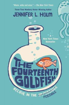 Bookjacket for The Fourteenth Goldfish