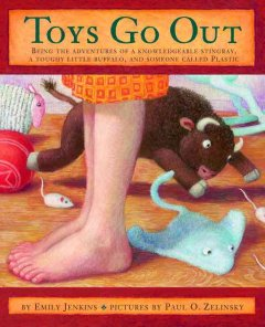 Bookjacket for  Toys Go Out