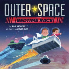 Bookjacket for  Outer Space Bedtime Race