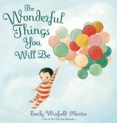 Bookjacket for The Wonderful things you will be