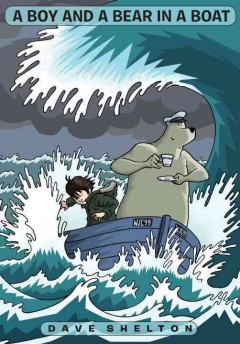 Bookjacket for A Boy and a bear in a boat
