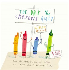 Bookjacket for The Day the crayons quit
