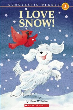 Bookjacket for  I love snow!