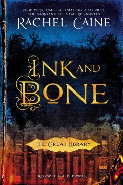 Bookjacket for  Ink and bone