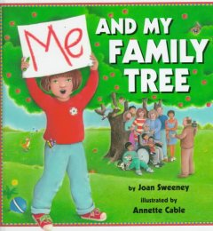Bookjacket for  Me and my family tree