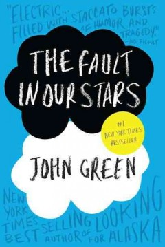 Bookjacket for The Fault in Our Stars