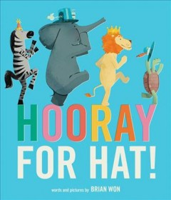 Bookjacket for  Hooray for Hat!