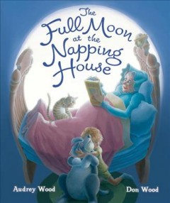 Bookjacket for The Full Moon at the Napping House
