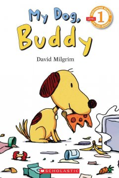 Bookjacket for  My dog, Buddy