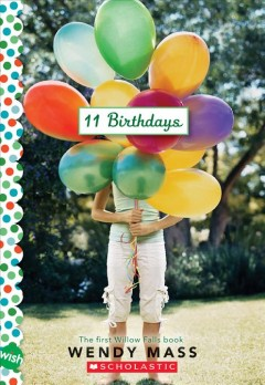 Bookjacket for  11 birthdays