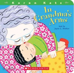 Bookjacket for  In Grandma's arms