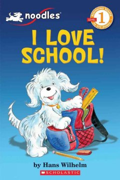 Bookjacket for  I love school!