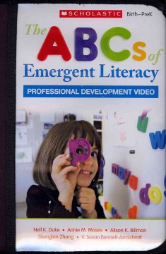 Bookjacket for The ABCs of Emergent Literacy