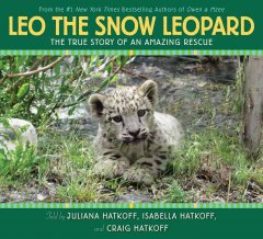 Bookjacket for  Leo, the snow leopard