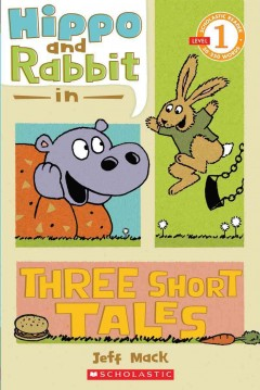 Bookjacket for  Hippo and Rabbit in Three Short Tales