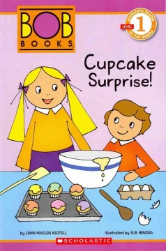 Bookjacket for  Cupcake surprise!