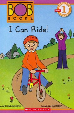 Bookjacket for  I can ride!