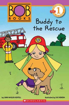 Bookjacket for  Buddy to the rescue