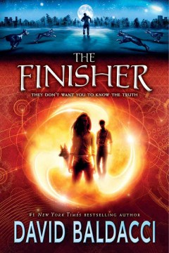 Bookjacket for The Finisher