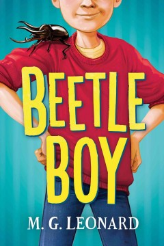 Bookjacket for  Beetle boy