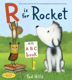 Bookjacket for  R is for rocket