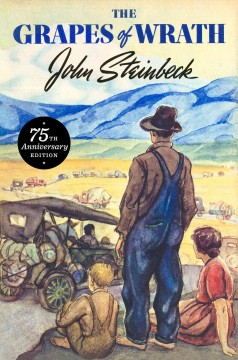 Bookjacket for The grapes of wrath